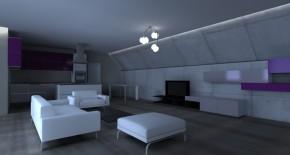 Interiér penthouse 1