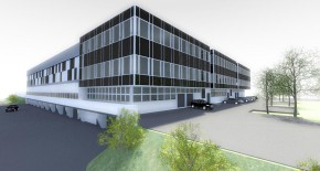 Low-energy industrial hall for AGRALL company