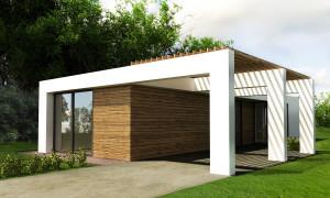 dom na úzky pozemok