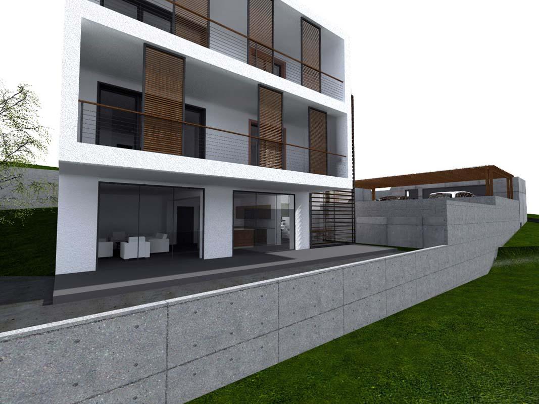 Moderný rodinný dom projekt Bratislava