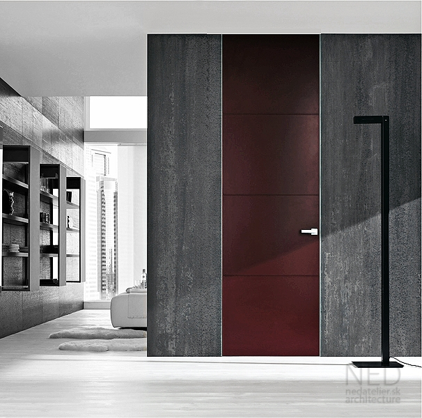 vysoke dvere v interieri