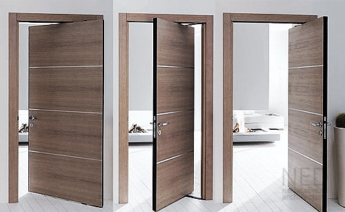 modern interior place for your doors