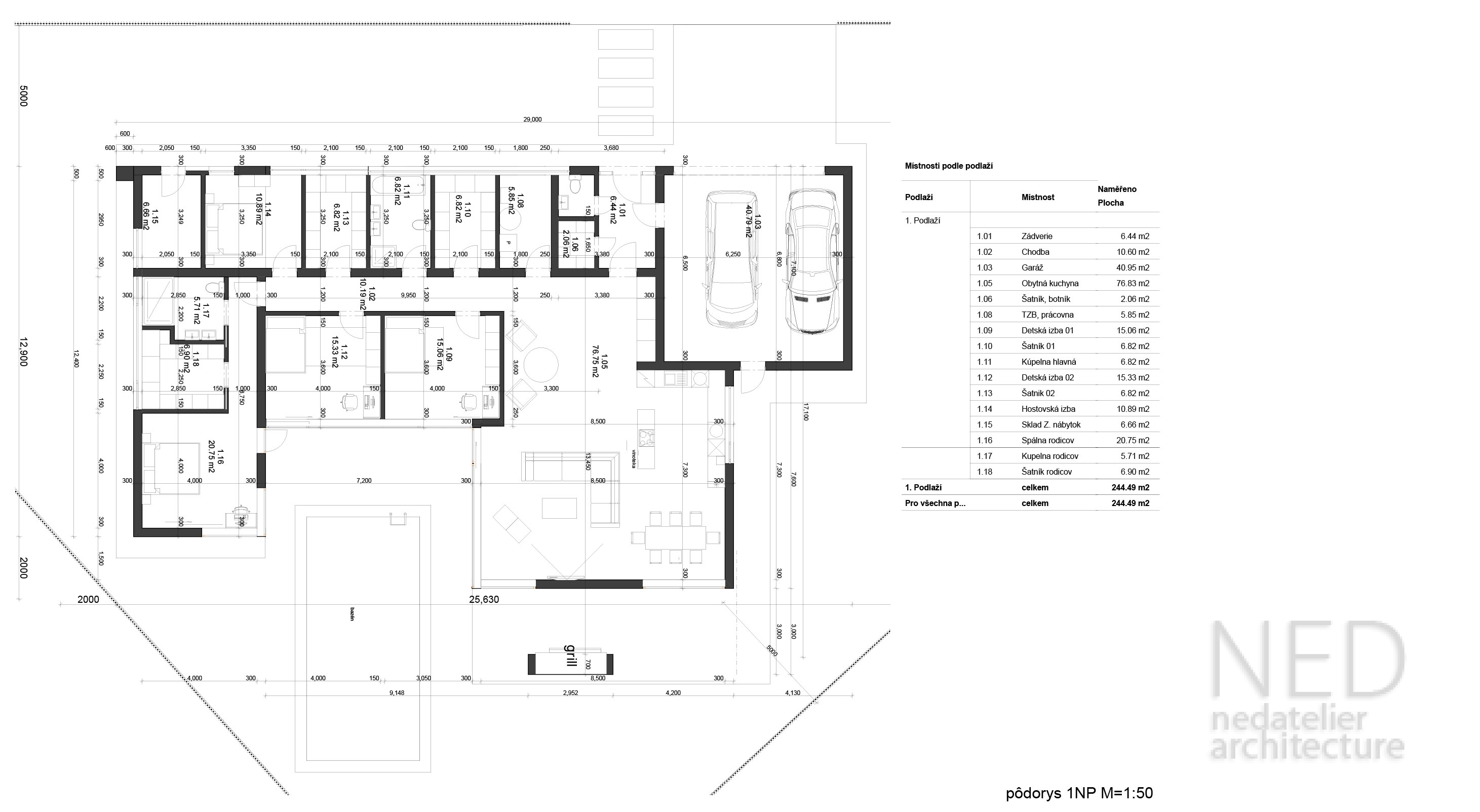 House plan – SOP